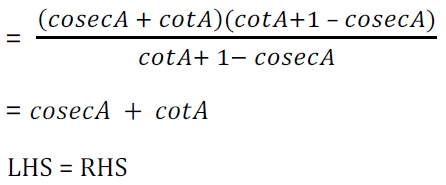 महत्वपूर्ण-प्रश्नोत्तर, पाठ - 8 त्रिकोणमिति का परिचय (कक्षा दसंवी),गणित Class 10 Notes | EduRev
