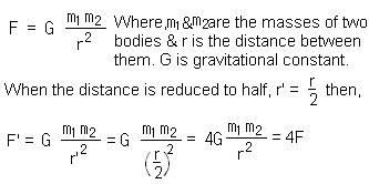 NCERT Solutions - Gravitation - Science Class 9 | EduRev Notes