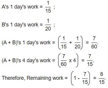 Important Formulas & Tips: Time & Work Quant Notes   EduRev