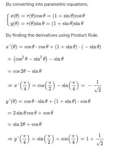 R=a(1 Sinx) At X=π/2? | EduRev Engineering Mathematics Question