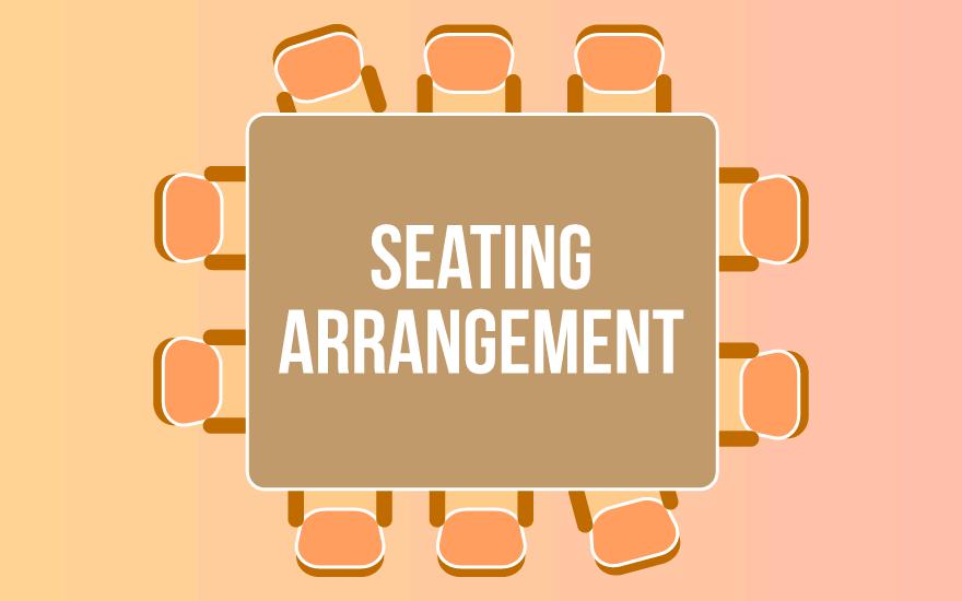 Sitting Arrangement CLAT Notes | EduRev