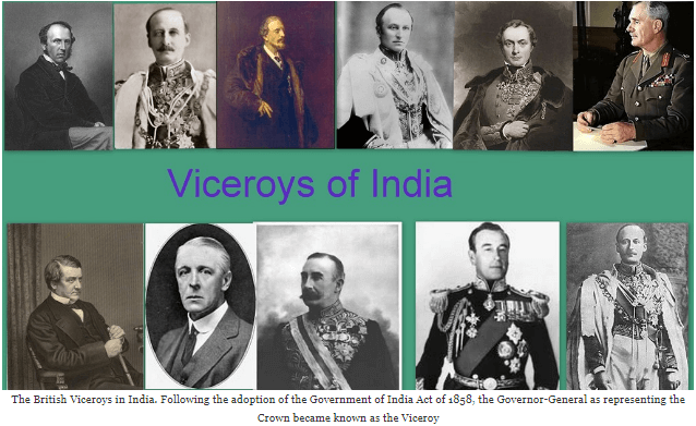 The Viceroys of India CLAT Notes | EduRev