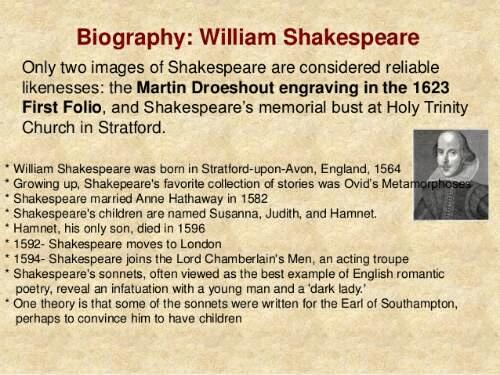 biography on