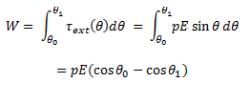 Potential Energy of a Dipole Class 12 Notes | EduRev