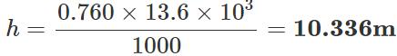 Short & Long Answer Question: Mechanical Properties of Fluids- 3 Notes   EduRev