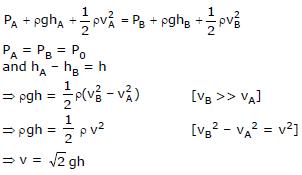 Bernoulli`s Equation Class 11 Notes | EduRev