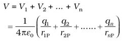 Potential due to an Electric Dipole and Potential Due To A System Of Charges Class 12 Notes | EduRev