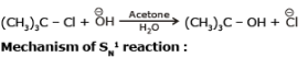 Nucleophilic Substitution Reactions - Haloalkanes and Haloarenes, Class 12, Chemistry Class 12 Notes | EduRev