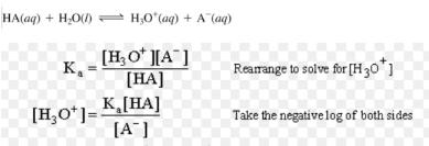 Henderson equation: Calculation of pH of a Buffer Mixture Class 11 Notes | EduRev