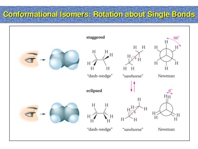 Conformational Isomers Class 11 Notes   EduRev