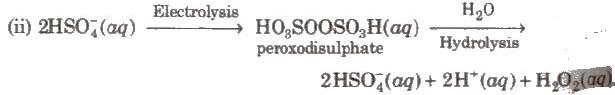 Hydrogen Peroxide, Its Preparation and Properties Class 11 Notes | EduRev