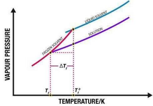 Depression In Freezing Point Notes | EduRev