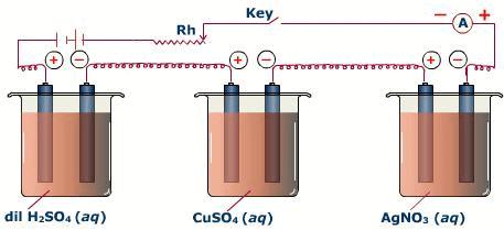 Faraday`s Laws of Electrolysis Class 12 Notes | EduRev