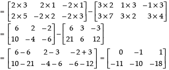 NCERT Exemplar - Matrices(Part-1) Commerce Notes | EduRev