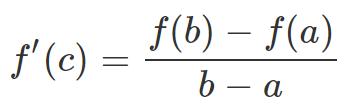 Mean Value Theorem JEE Notes | EduRev