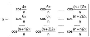 Types of Determinants and Their Properties JEE Notes | EduRev