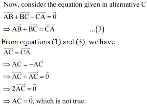 NCERT Solutions - Vector Algebra JEE Notes | EduRev