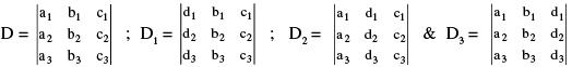 Determinant - Formulas Notes   EduRev