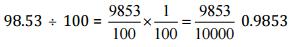 NCERT Solutions(Part - 3) - Fractions and Decimals Class 7 Notes   EduRev
