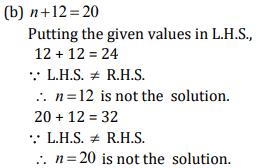 NCERT Solutions(Part - 2) - Algebra Class 6 Notes | EduRev