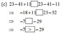 NCERT Solutions(Part - 1) - Integers Class 7 Notes | EduRev