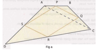 Procedure - To show that the figure obtained by joining the mid-points of consecutive sides, Math Class 9 Notes | EduRev