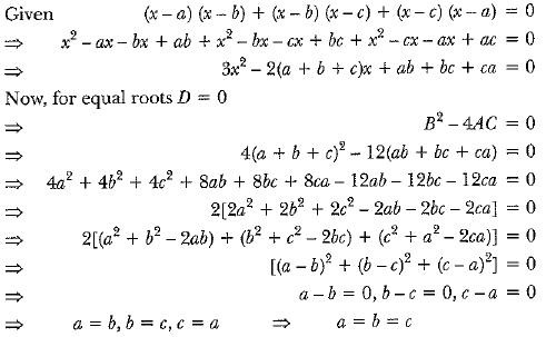 Previous Year Questions - Quadratic Equations Class 10 Notes | EduRev