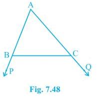 NCERT Solutions Chapter 7 - Triangles (I), Class 9, Maths Class 9 Notes | EduRev