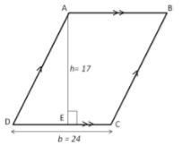 Theory - To show that the Area of Parallelogram is Product of its Base and Height, Class 9 Math Class 9 Notes | EduRev