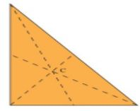 Theory - To illustrate that the Medians of a Triangle Concur at a Point (called the Centroid), Math Class 9 Notes | EduRev