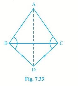 NCERT Solutions Chapter 7 - Triangles (II), Class 9, Maths Class 9 Notes | EduRev