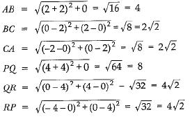NCERT Exemplar - Coordinate Geometry Class 10 Notes   EduRev