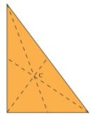 Procedure - To illustrate that the Medians of a Triangle Concur at a Point (called the Centroid) Class 9 Notes | EduRev