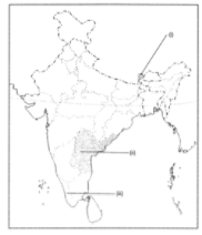 Extra Question & Answers (Part - 2) - India: Size And Location Class 9 Notes | EduRev