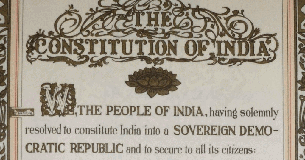 Important Questions - The Indian Constitution, SST, Class 8   EduRev Notes