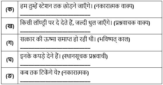 NCERT Solutions, पाठ 4 - तुम कब जाओगे अतिथि, स्पर्श, हिन्दी, कक्षा - 9 Class 9 Notes | EduRev