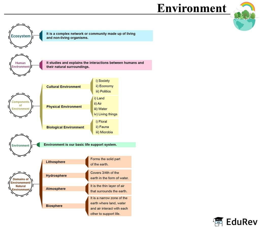 Mindmap: Environment Notes | EduRev