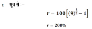चक्रवृद्धि ब्याज (Compound Interest) (Part -1) - Quantitative Aptitude Quant Notes   EduRev