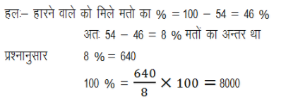 प्रतिशत (Percentage) (Part -1) - Quantitative Aptitude Quant Notes | EduRev