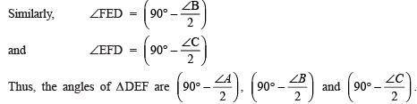Ex 10.6 NCERT Solutions- Circles Class 9 Notes   EduRev