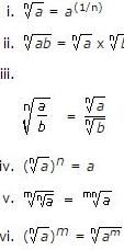 Surds & Indices - Introduction and Examples (with Solutions), Quantitative Aptitude Quant Notes   EduRev