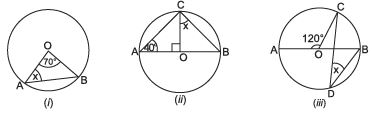 Additional Questions Solutions- Circles Class 9 Notes | EduRev