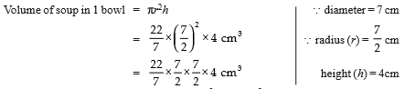 Value Based Questions- Surface Areas and Volumes Class 9 Notes | EduRev