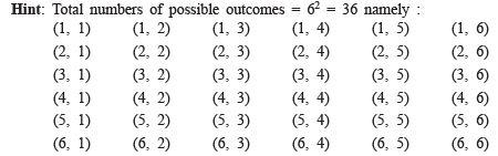 Hots Questions- Probability Class 9 Notes | EduRev