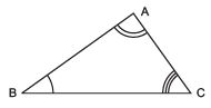 Facts That Matter- Triangles Class 9 Notes | EduRev