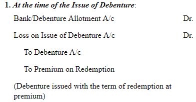 NCERT Solution (Part - 1) - Issue and Redemption of Debentures Commerce Notes | EduRev