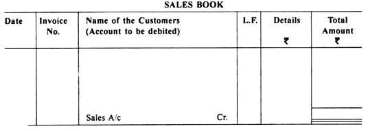 Subsidiary books Class 11 Notes | EduRev