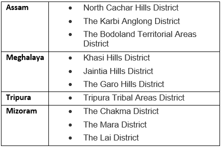 Scheduled And Tribal Areas UPSC Notes | EduRev