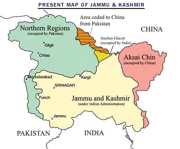 Indian Geographical Extent & Frontiers UPSC Notes | EduRev