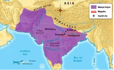 साम्राज्य का उदय और विस्तार - मौर्य साम्राज्य, इतिहास, यूपीएससी UPSC Notes   EduRev